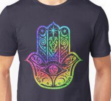 Colorful Mosaic Hamsa Unisex T-Shirt