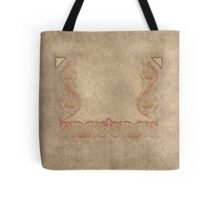 Flower tone on tone neutral backdrop Tote Tote Bag
