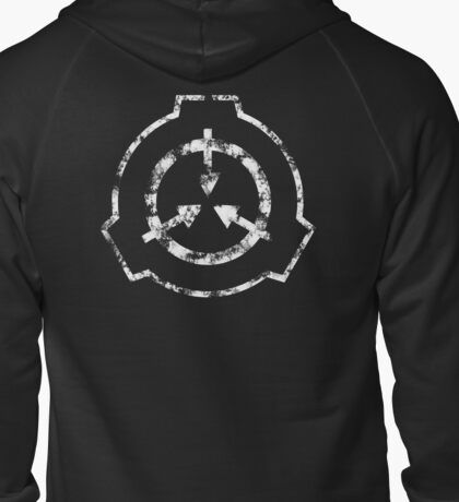 SCP Foundation Symbol Zipped Hoodie