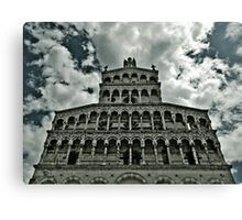 Cathedral Lucca Canvas Print