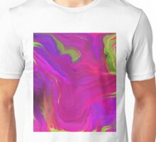 AGATE INTERPRETED:  PINK LAVA BEDS Unisex T-Shirt
