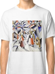 Kazimir Malevich - Morning In The Village After Snowstorm  Classic T-Shirt