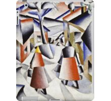 Kazimir Malevich - Morning In The Village After Snowstorm  iPad Case/Skin