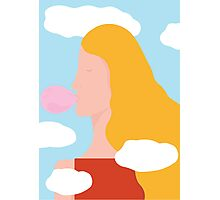 Head in clouds Photographic Print