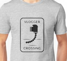 Vlogger Crossing Unisex T-Shirt