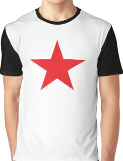 Red Star, STAR, Stardom, Power to the people! Red Dwarf, Stellar, Cosmic, on BLACK Graphic T-Shirt