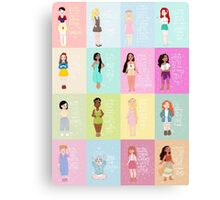The Modern Princess Series Canvas Print