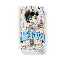 I did it! Watercolor Painting Samsung Galaxy Case/Skin