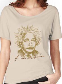 Albert Einstein visionary in modern physics Women's Relaxed Fit T-Shirt