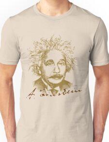 Albert Einstein visionary in modern physics Unisex T-Shirt