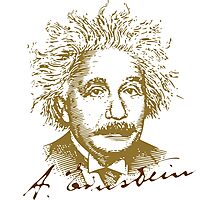 Albert Einstein visionary in modern physics Photographic Print