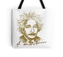 Albert Einstein visionary in modern physics Tote Bag