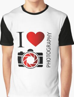 I love photography Graphic T-Shirt