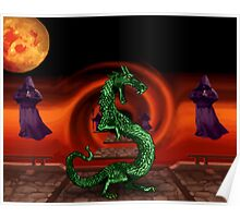 Mortal Kombat Dragon Poster