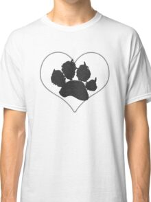 Paw Print In Heart 1 Classic T-Shirt