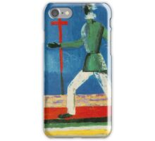 Kazemir Malevich - Running Man iPhone Case/Skin
