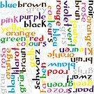 Colour language by Morag Anderson