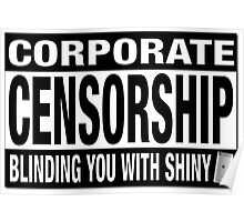 CORPORATE CENSORSHIP - IBORING Poster