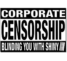 CORPORATE CENSORSHIP - IBORING Photographic Print