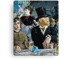 Edouard Manet - At the Cafe ( 1879)  Canvas Print