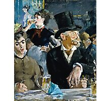 Edouard Manet - At the Cafe ( 1879)  Photographic Print