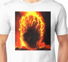 SKULL ON FIRE Unisex T-Shirt