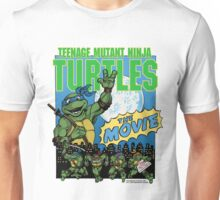 Ninja Turtles Retro First Movie 1990 Leonardo Unisex T-Shirt