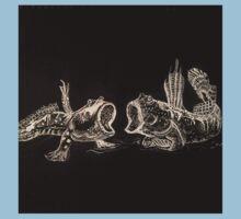 Mudskippers by Liz H Lovell One Piece - Short Sleeve