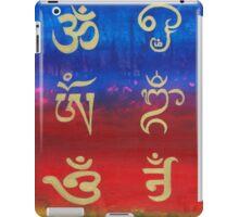 Om (Universal sound) in different languages iPad Case/Skin