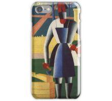 Kazemir Malevich - Carpenter 1929 iPhone Case/Skin