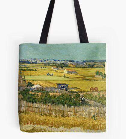 Vincent Van Gogh -  Harvest, June 1888 - 1888  Tote Bag