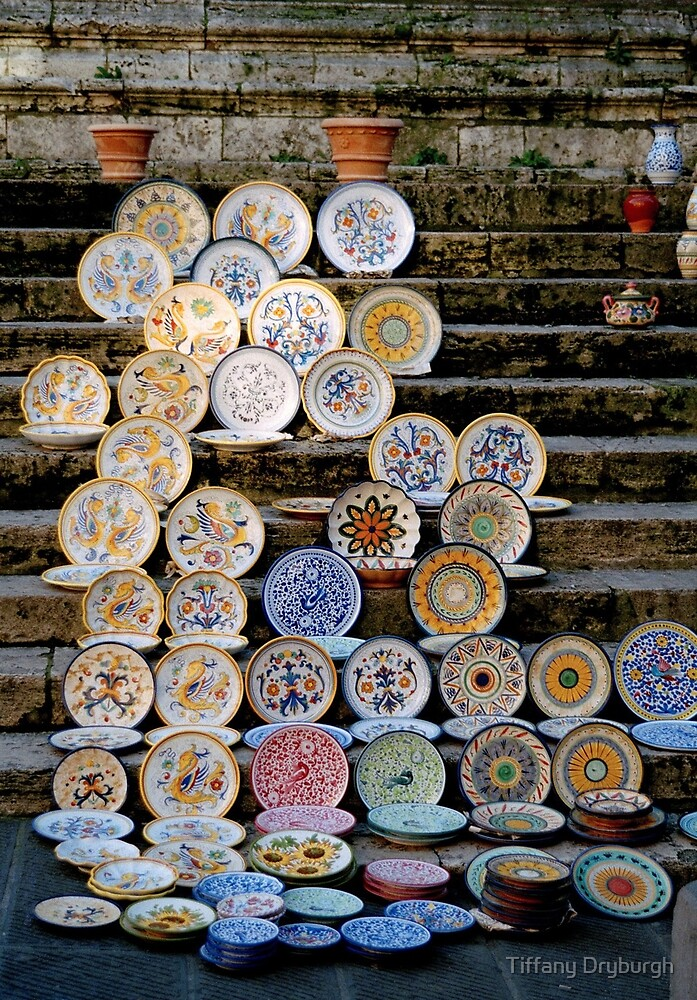 Market Stall, Perugia by Tiffany Dryburgh