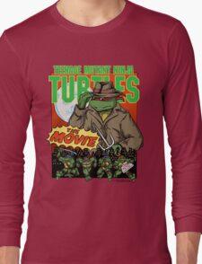 Ninja Turtles Retro First Movie 1990 Raphael Long Sleeve T-Shirt