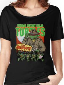 Ninja Turtles Retro First Movie 1990 Raphael Women's Relaxed Fit T-Shirt