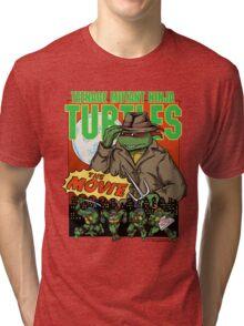 Ninja Turtles Retro First Movie 1990 Raphael Tri-blend T-Shirt