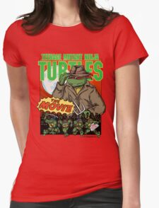Ninja Turtles Retro First Movie 1990 Raphael Womens Fitted T-Shirt