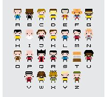Star Trek Alphabet by Sergey Vozika