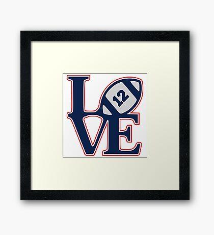 LOVE BRADY Framed Print
