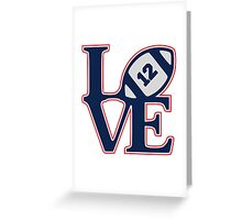 LOVE BRADY Greeting Card