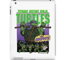 Ninja Turtles Retro First Movie 1990 Donatello iPad Case/Skin