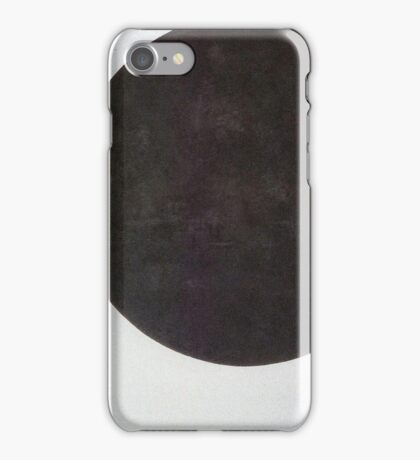 Kazemir Malevich - Black Circle 1923 iPhone Case/Skin