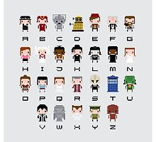 Doctor Who Alphabet by Sergey Vozika