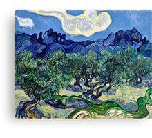 Vincent Van Gogh -  Olive Trees, 1889  Canvas Print