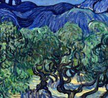 Vincent Van Gogh -  Olive Trees, 1889  Sticker