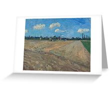 Vincent Van Gogh -  Ploughed Field, 1888 Greeting Card