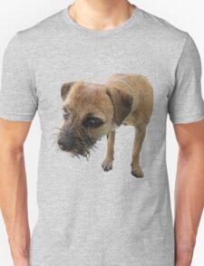 Border Terrier in quartz Unisex T-Shirt