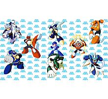 Mega Man 3 Photographic Print