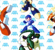Mega Man 3 Sticker
