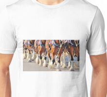 Clydesdale Horses Walking Unisex T-Shirt