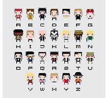 Rock Music Alphabet by Sergey Vozika